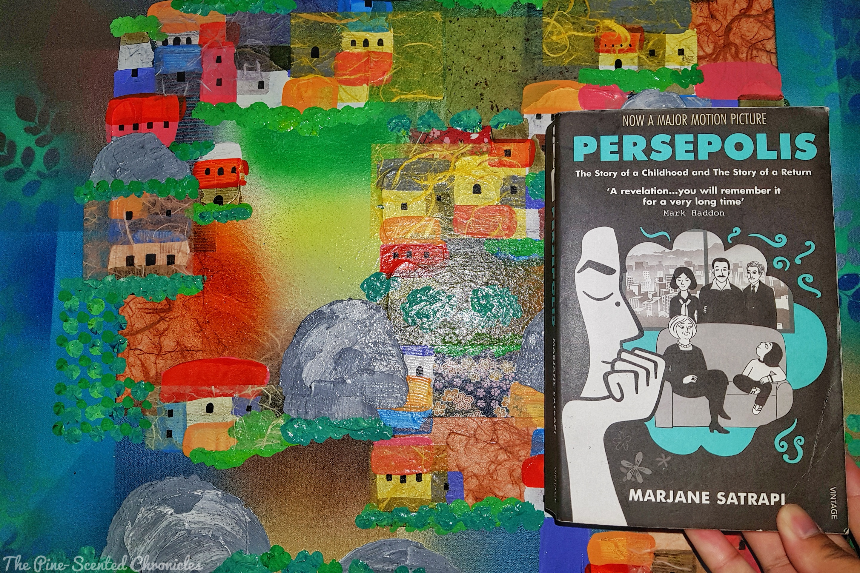 Book Review 53 The Complete Persepolis The Pine Scented Chronicles